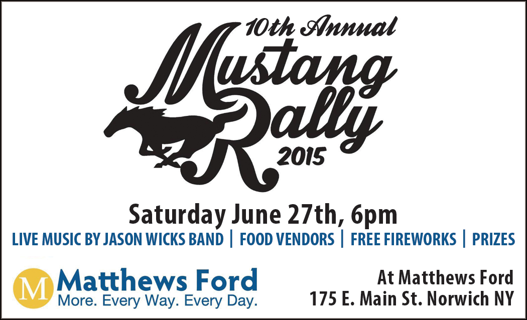 mustang rally at matthews ford in norwich | apex automotive magazine