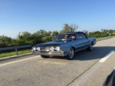"""1967 Oldsmobile 442 """"Rockets Revenge"""""""