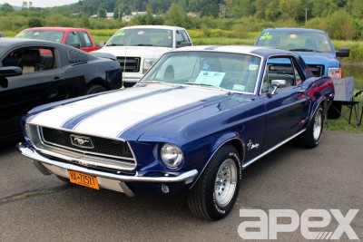 10th Annual Mustang Rally at Matthews Auto in Norwich