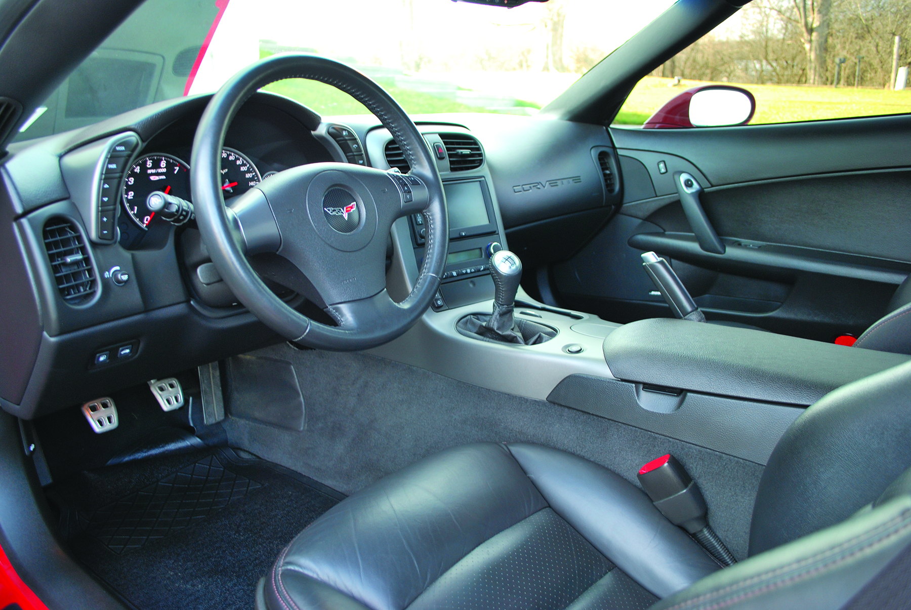 C6 Z06 Interior