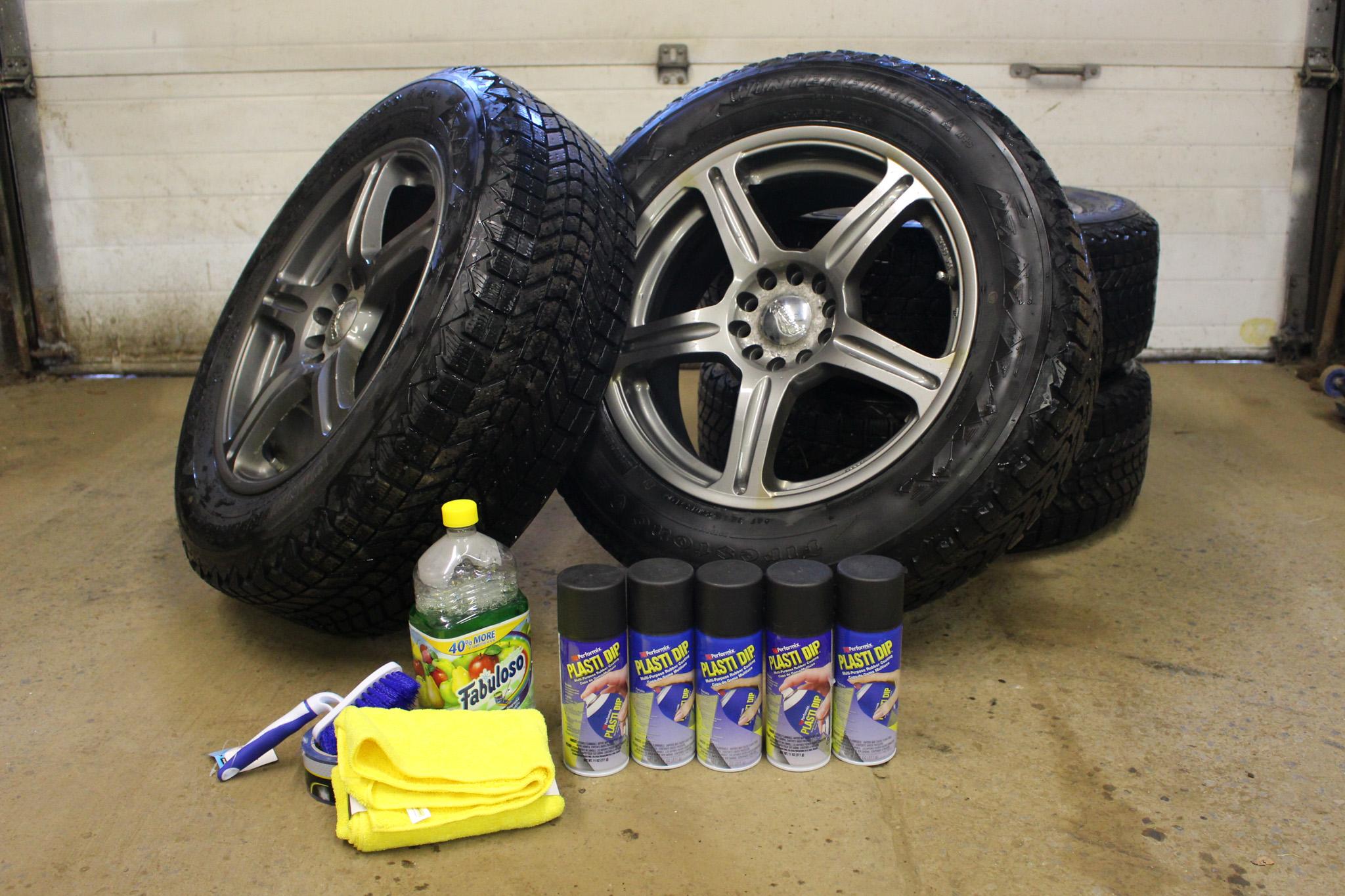 How To Plasti Dip Your Wheels | Apex Automotive Magazine