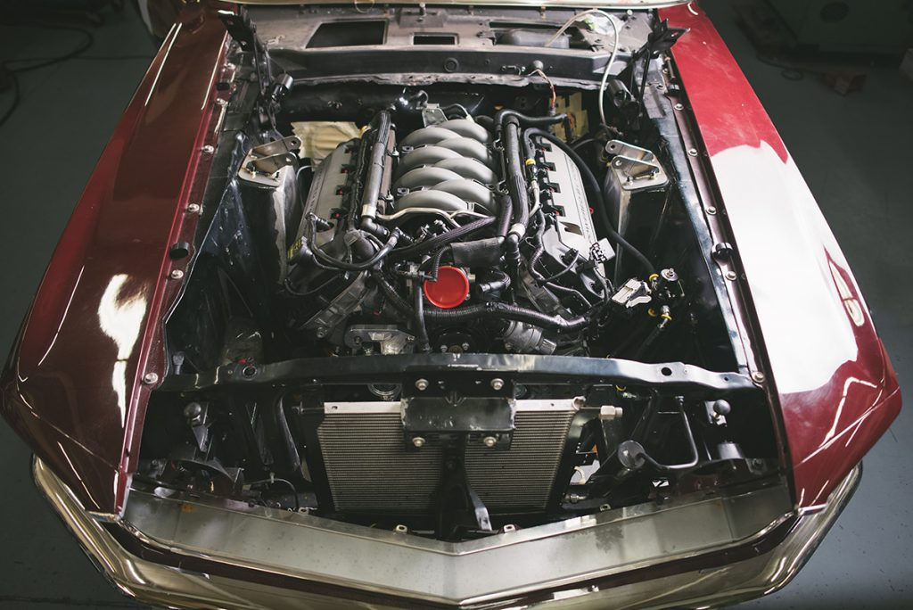 Tucci Hot Rods 1969 Ford Mustang Mach 1 Restomod