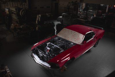 1969 Ford Mustang Mach 1 Restomod