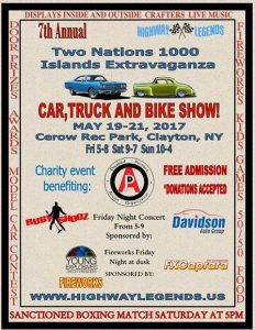Two Nations 1000 Islands Extravaganza Highway Legends show @ Cerow Rec Park | Clayton | New York | United States