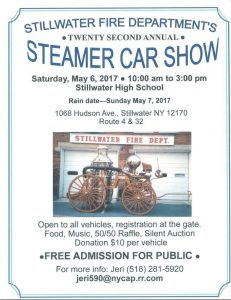 Restore the Steamer Car Show **2017** @ Stillwater Central School | Stillwater | New York | United States