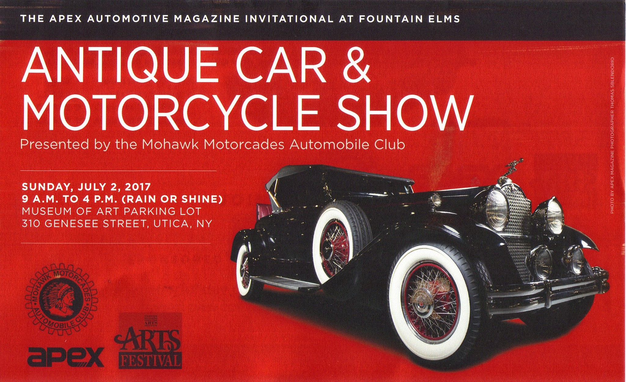 Utica Genesee Street Car Show