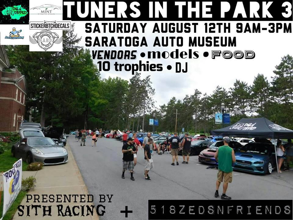 Saratoga Tuners In The Park @ Saratoga Automobile Museum | Saratoga Springs | New York | United States