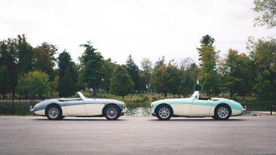 His & Her – Austin-Healey 3000 MK I Roadsters