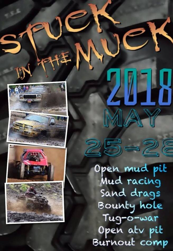 Stuck in the Muck 2018 @ Adirondack International Speedway | Castorland | New York | United States