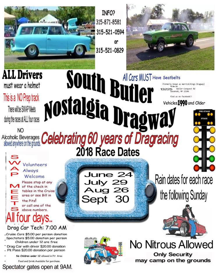 South Butler Drag Races 2018 @ South Butler Nostalqia Dragway | Savannah | New York | United States