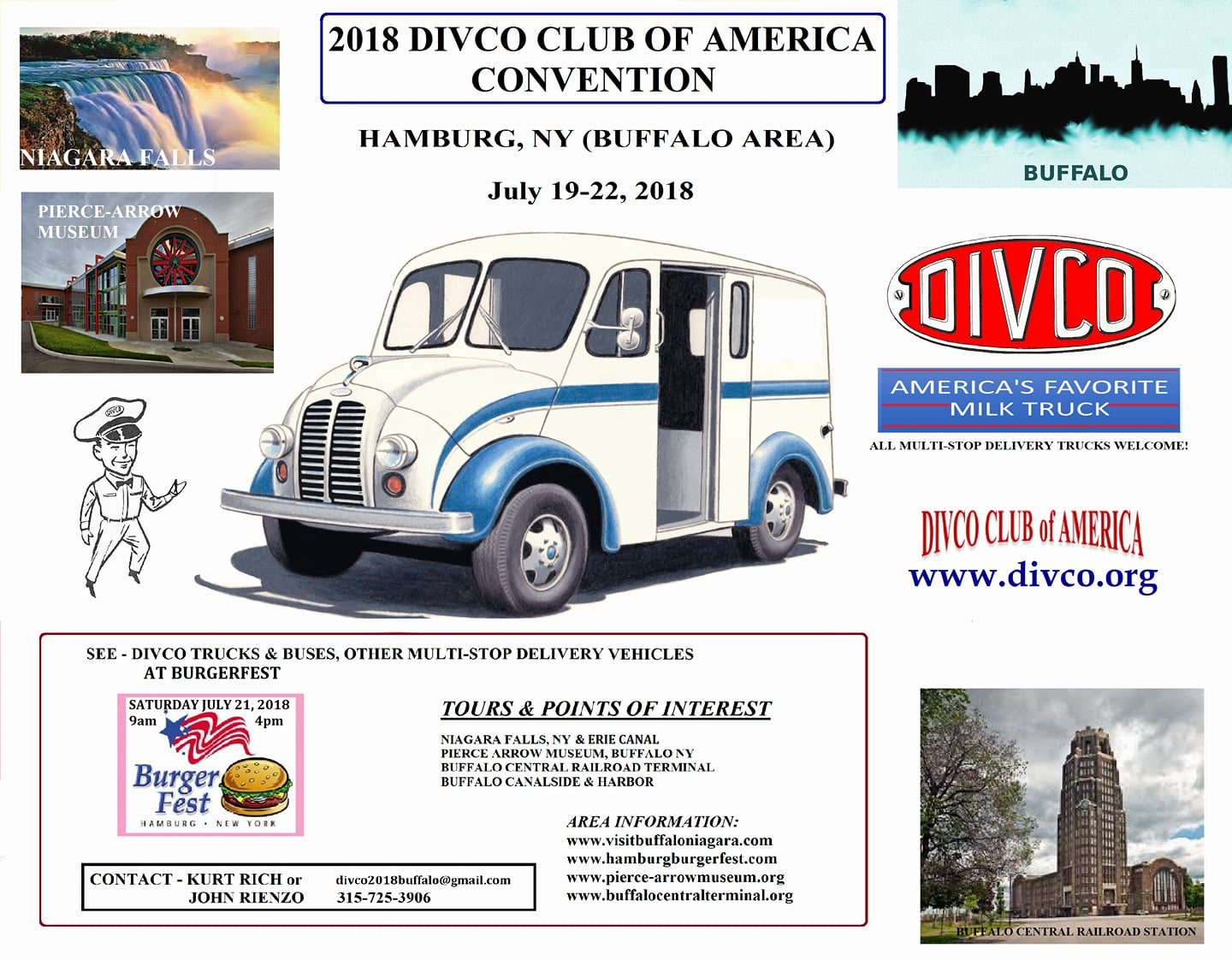 2018 Divco Club of America Convention @ Holiday Inn Express | Hamburg | New York | United States
