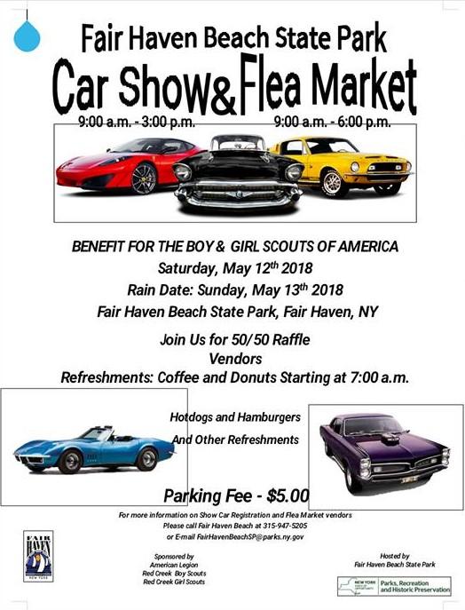 Car Show Fair Haven Beach State Park