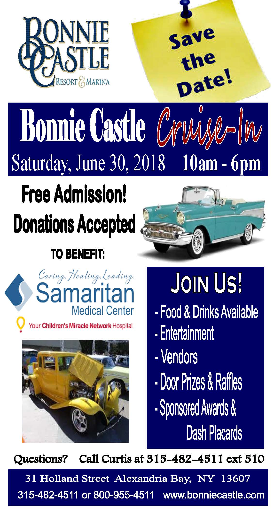 Bonnie Castle Cruise-In 2018 @ Bonnie Castle Resort & Marina | Alexandria Bay | New York | United States
