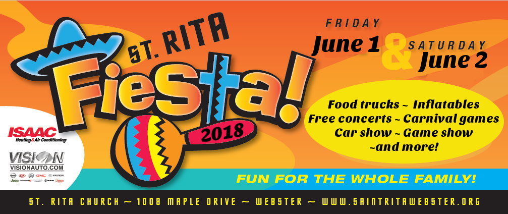 St. Rita's 64th Annual Fiesta 2018 @ St. Rita's | Webster | New York | United States