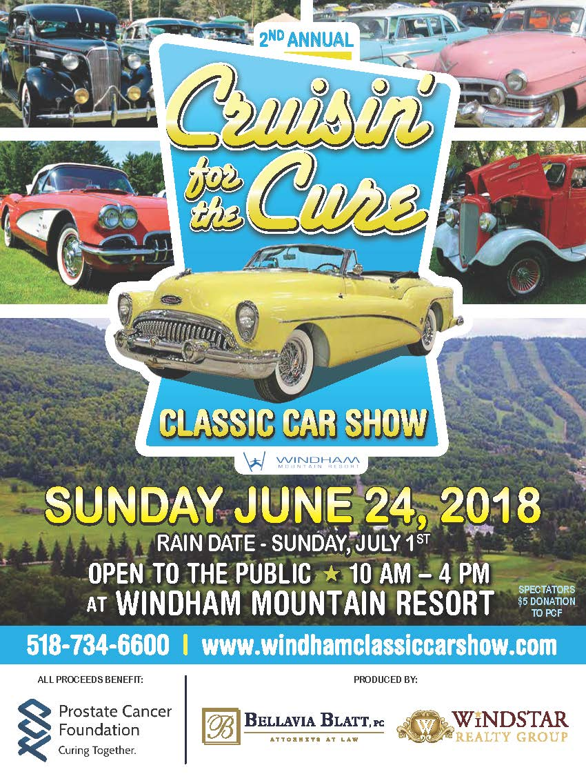 Cruisin' For The Cure Classic Car Show 2018 @ Windham Mountain Resort | Windham | New York | United States