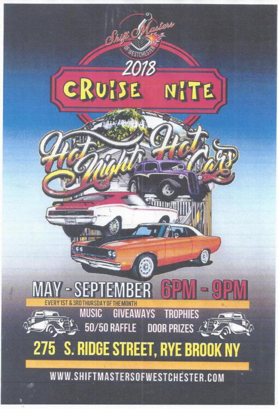 Shift Masters of Westchester 2018 Cruise Nite @ Westchester Burger | Rye Brook | New York | United States