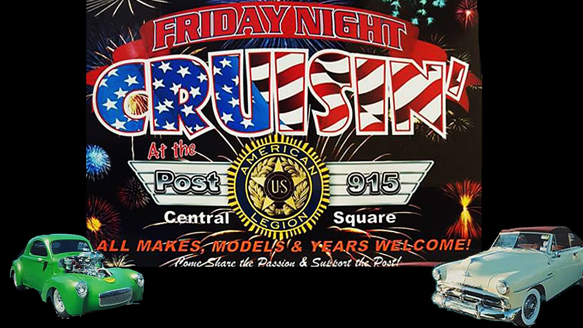 Central Square American Legion Friday Night Cruisin' 2018 @ Central Square American Legion | Central Square | New York | United States