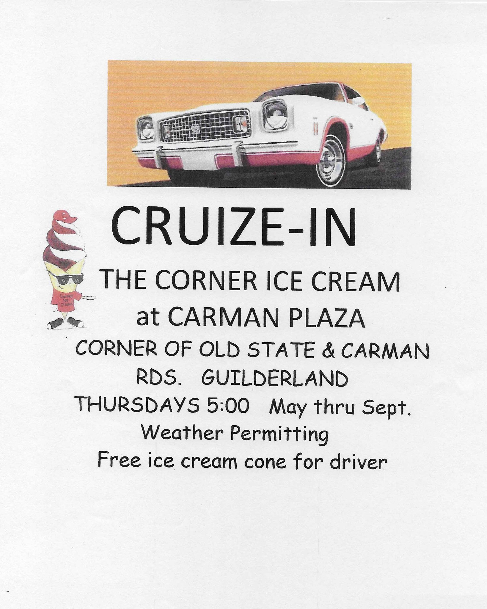 Cruize-In The Corner Ice Cream at Carman Plaza 2018 @ Corner Ice Cream Store | Schenectady | New York | United States