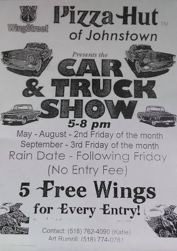 Pizza Hut Car & Truck Show 2018 @ Pizza Hut of Johnstown | Johnstown | New York | United States