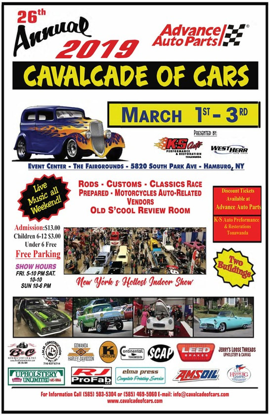 26th Annual Cavalcade of Cars 2019 @ Event Center - The Fairgrounds | Hamburg | New York | United States