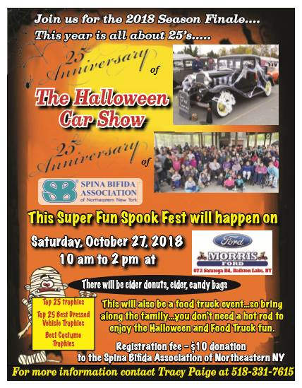 25th Anniversary of the Halloween Car Show 2018 @ Ballston Lake | New York | United States