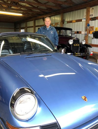 'If I want to go slow, I drive the Model A…If I want to go fast, I drive the 911S!'