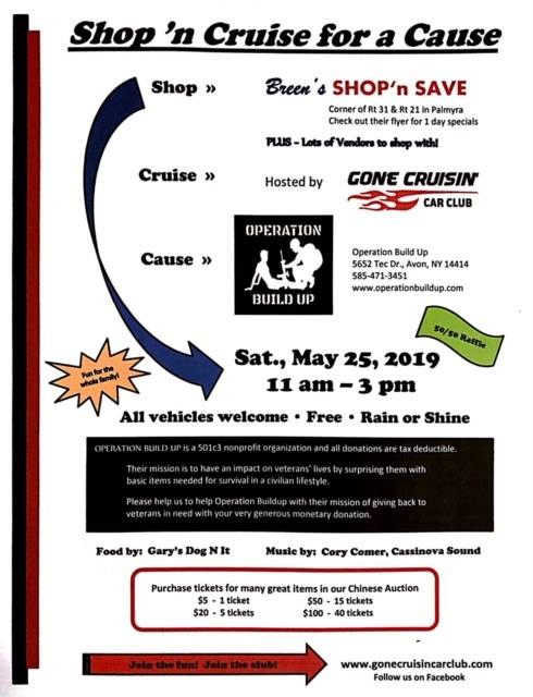 Shop 'n Cruise for a Cause 2019 @ Breen's Shop 'n Save