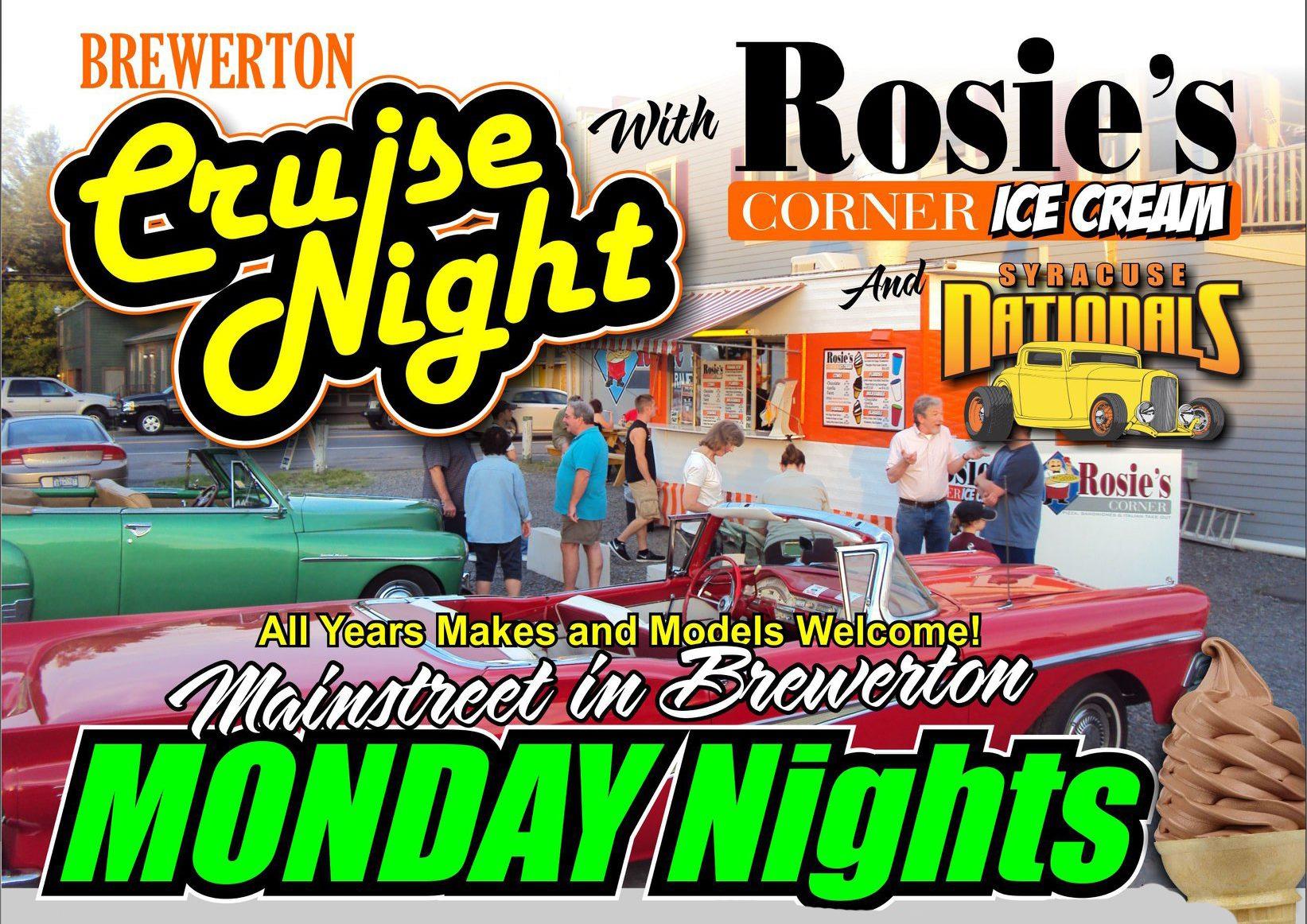 Brewerton Cruise Night w/ Rosie's Corner 2019 @ Rosie's Corner