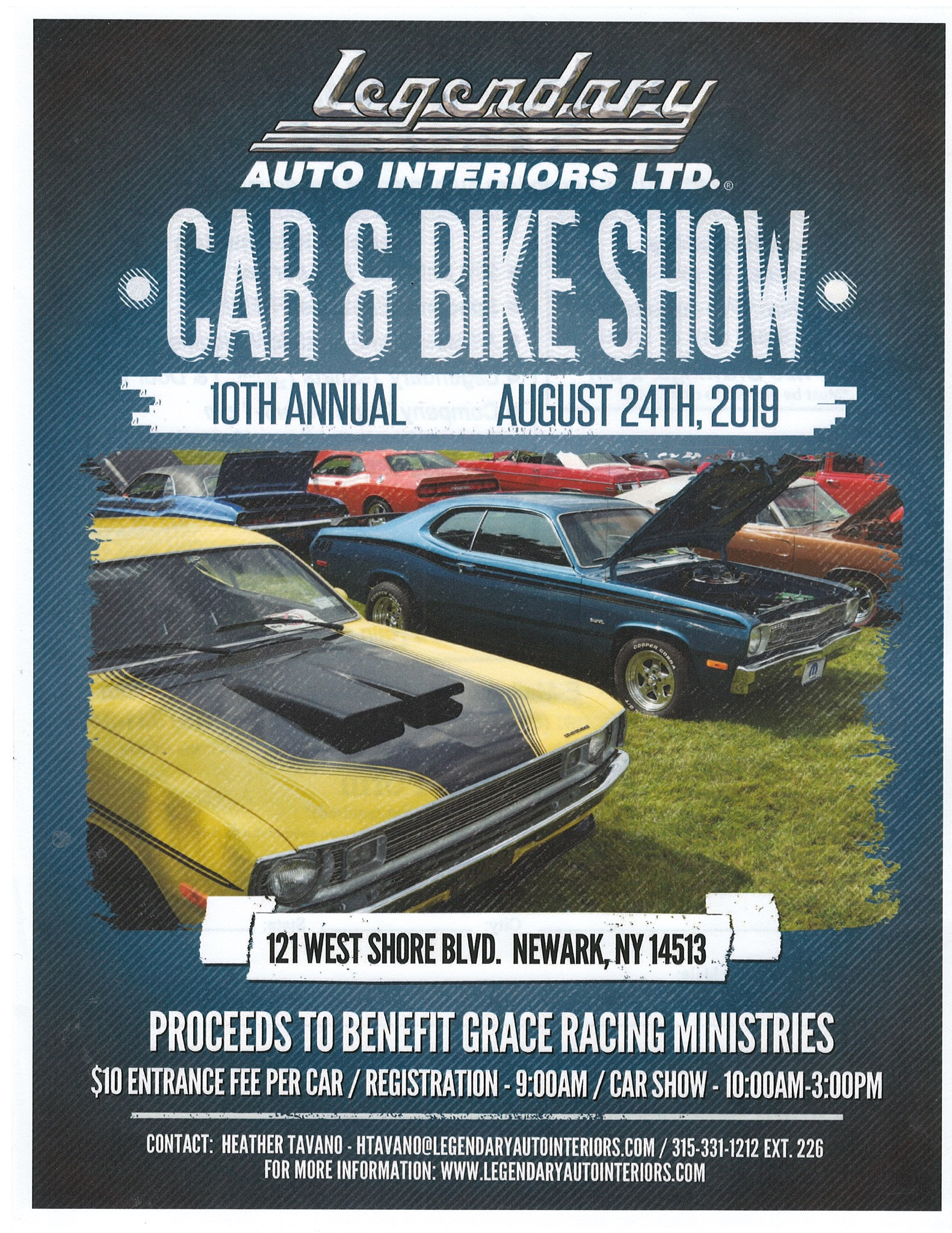Legendary Auto Interiors 10th Annual Car & Bike Show 2019 @ Legendary Auto Interiors