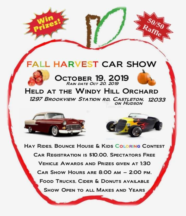 Fall Harvest Car Show 2019 @ Windy Hill Orchard