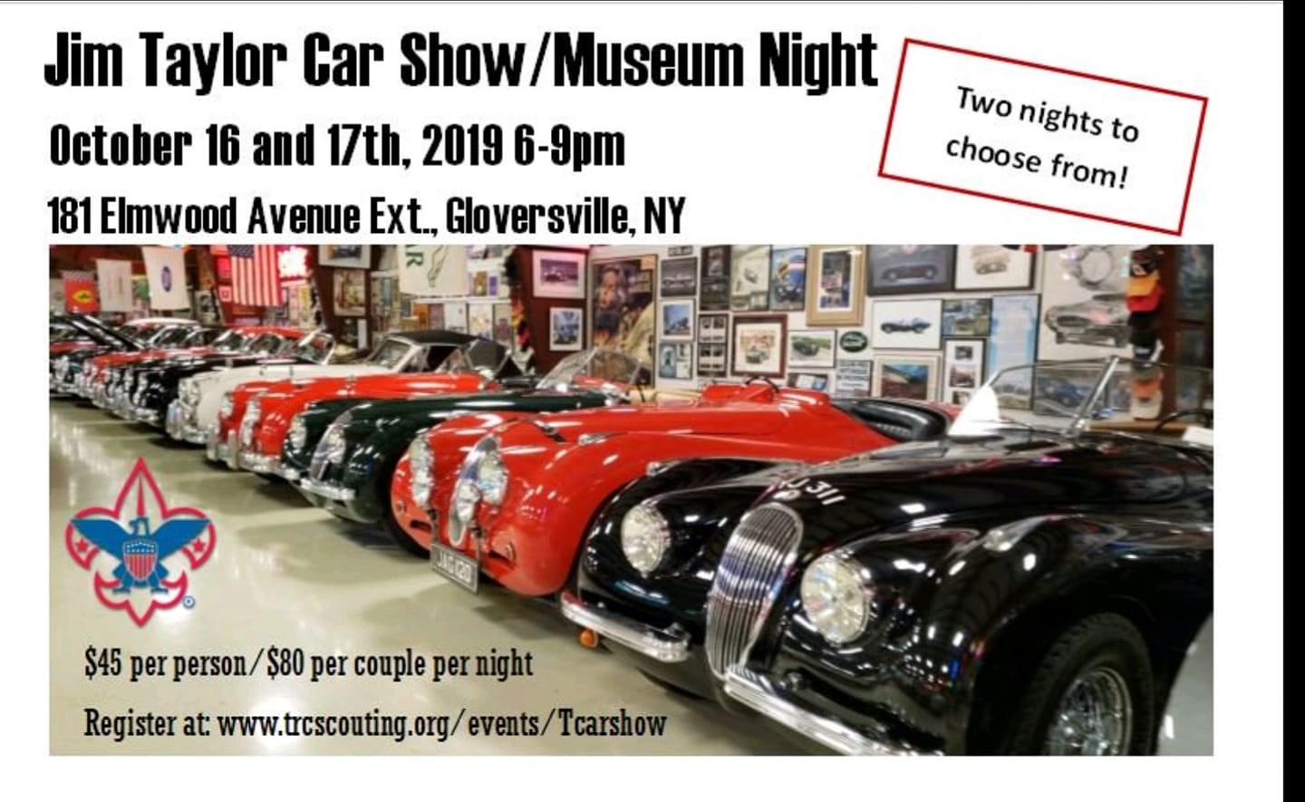 Taylor Car Show/Museum Night